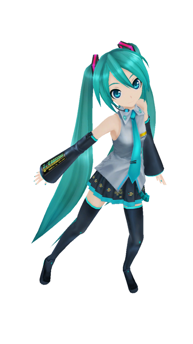 Music Girl Miku by Alelokk