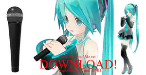 MMD Microphone - DOWNLOAD