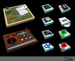 Some 3D icons