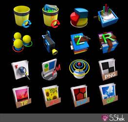 3D icons part 2
