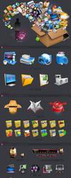 Shek Icons For IF09 Magazine by Shek0101