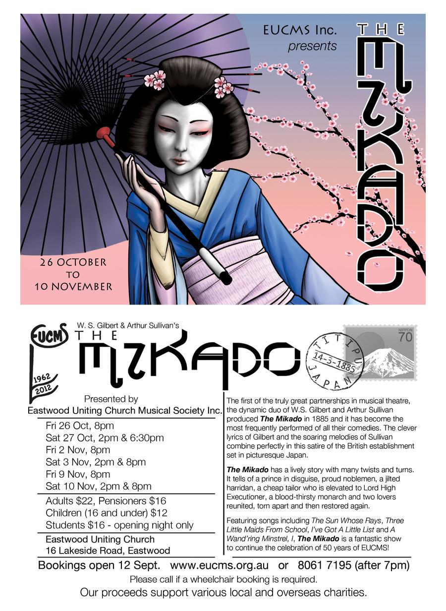 Mikado Postcard by Jabberworks