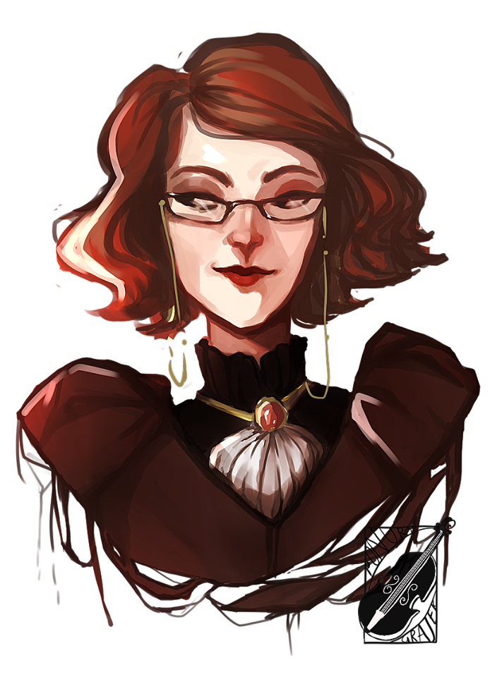 Mrs M. by PonuryGrajek