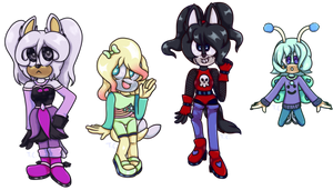 Name your price Sonic adopts - 2/4 OPEN