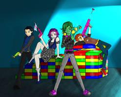 Shiny Toy Titans by RayneShadowGoddess