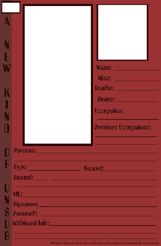 profile template