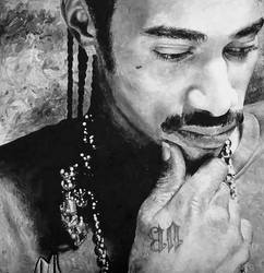 Layzie Bone by BiondoArt-dot-com