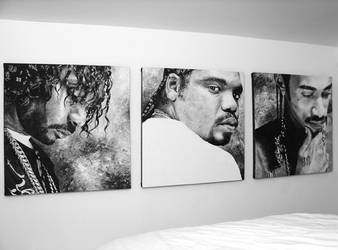 Bone Thugs-N-Harmony Paintings by BiondoArt-dot-com