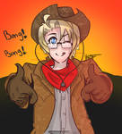 Cowboy! America!
