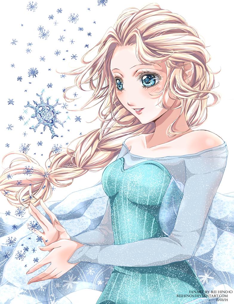 Elsa - Frozen by Reikyourin