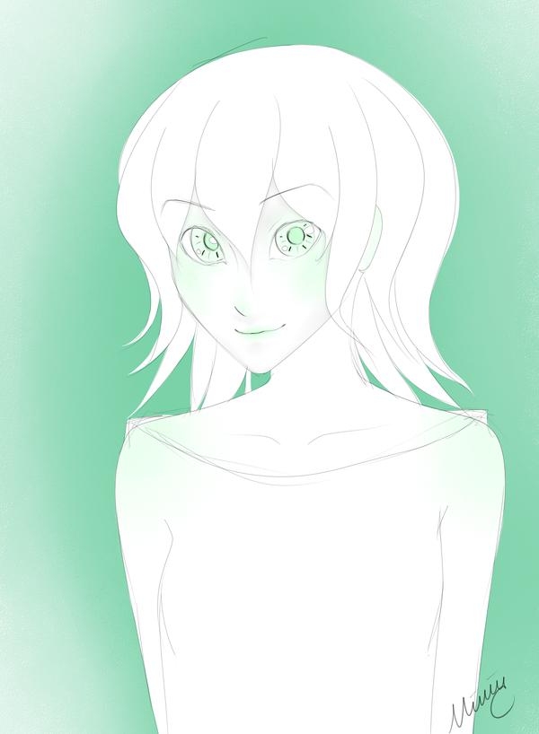 Alien Girl Green by lovesichigos