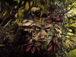 Greenman by Scarletmcd
