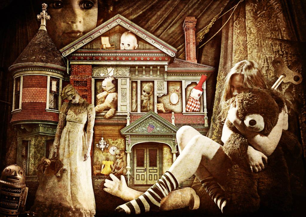Forgotten Toys In The Attic by Scarletmcd