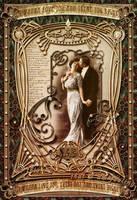 Nouveau Valentine Card by Scarletmcd