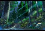 VN Anime Background Study 2