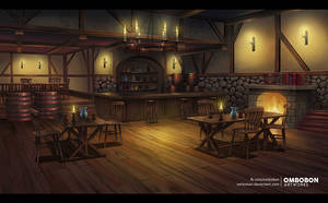 Tavern - Commission by ombobon