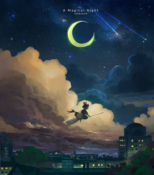 A Magical Night - Kiki's Delivery Service