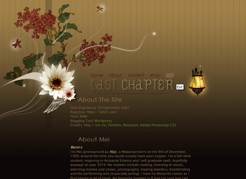 LastChapter.org by hanmei