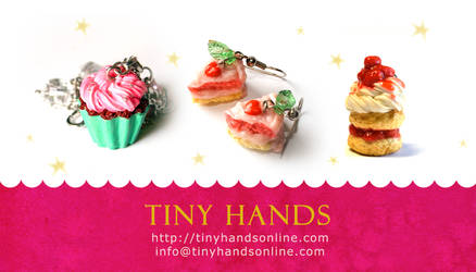 New Tiny Hands Business Cards