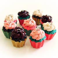 Gourmet Cupcake Charms by hanmei