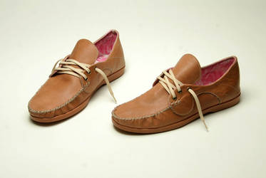 African Leather shoes made by hand.   - OREKE - by tad