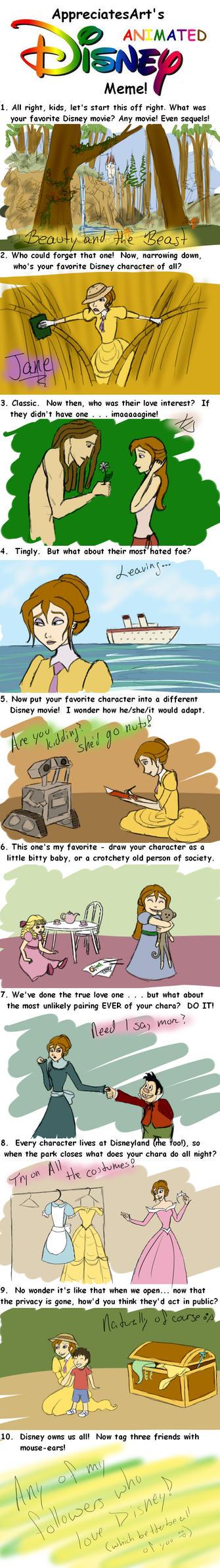 Disney Meme by Whisperwings