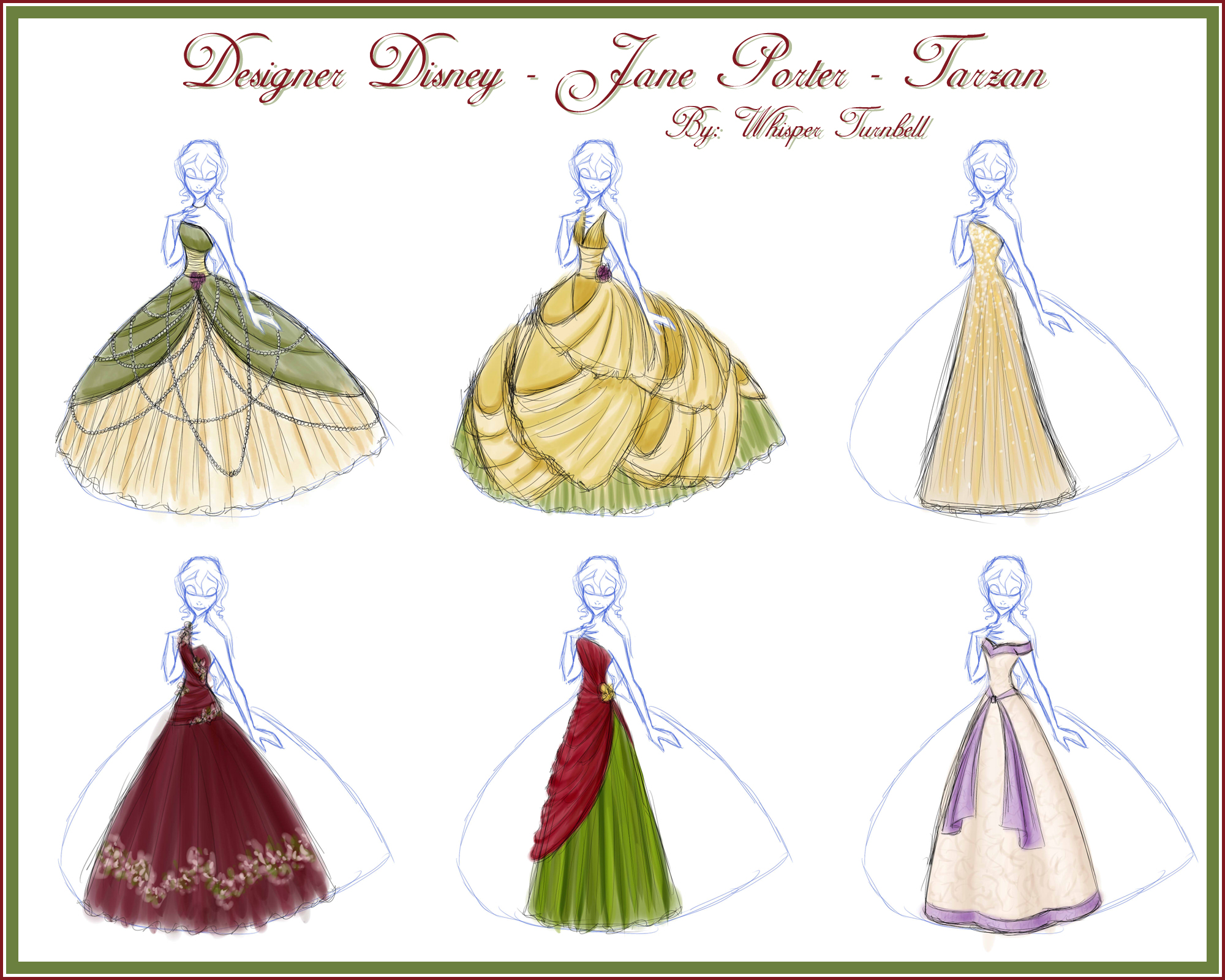 Designer Disney - Jane by Whisperwings