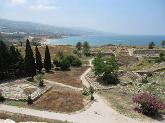 Archaeological site, Byblos, Lebanon by LloydG