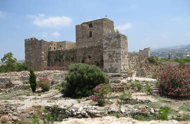 Archaeological site, Byblos - Crusader citadel by LloydG