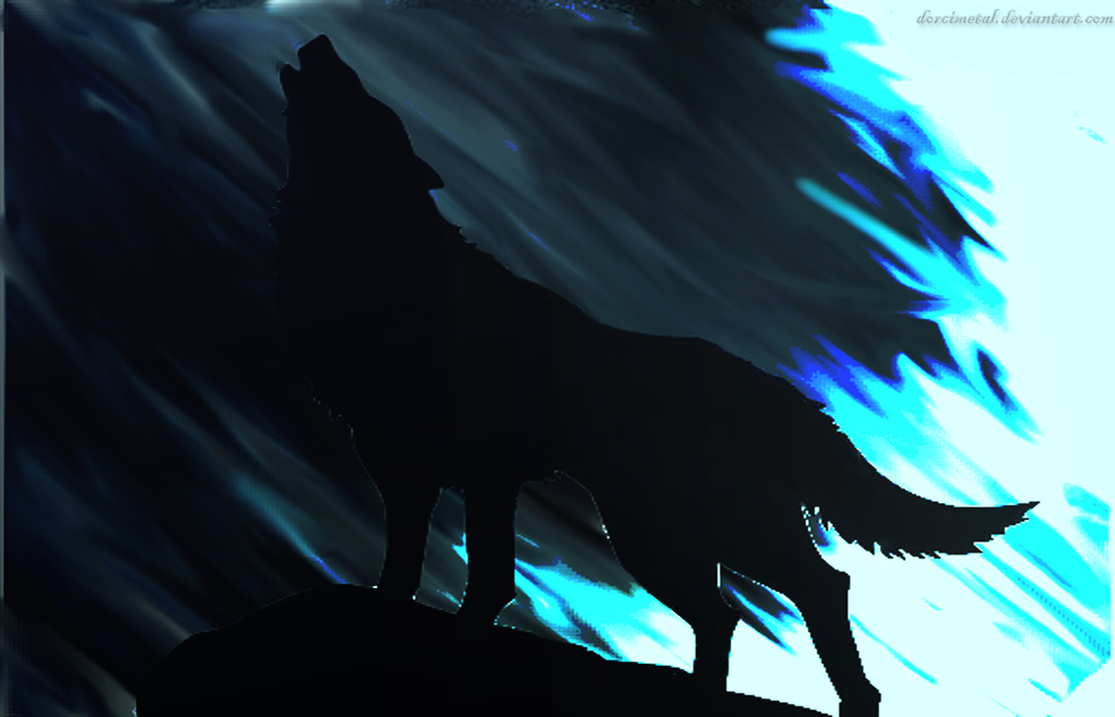 Howling Wolf Wallpaper By DorciMetal On DeviantArt