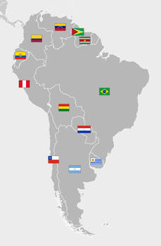 (Flags of South America)