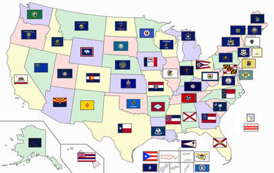 (Flags of the U.S. states)