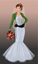 Bendalin's Wedding Dress 2