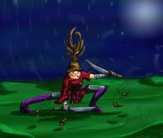 Ninja-girl by slowdragon25