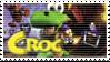 Croc stamp by Larzu