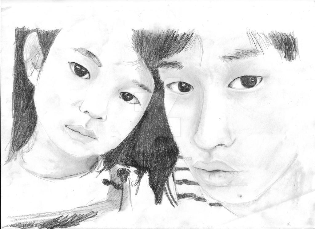 Tablo and Haru by PilarSermar