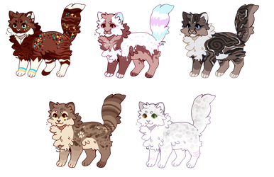 #34 adoptable pack | open by Whestersen