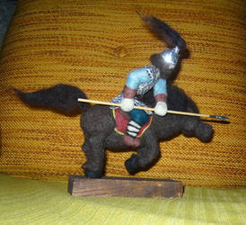 Horse Pikeman 1