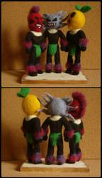 The Three Cannibals by vvvDragonsNestvvv