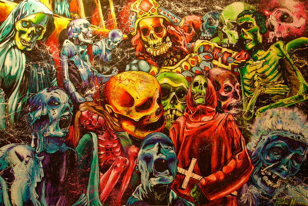 Empire of the Dead by 1dozeneyes