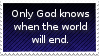 Only God Knows Stamp by flarefugikage