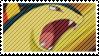 Typhlosion Stamp by flarefugikage