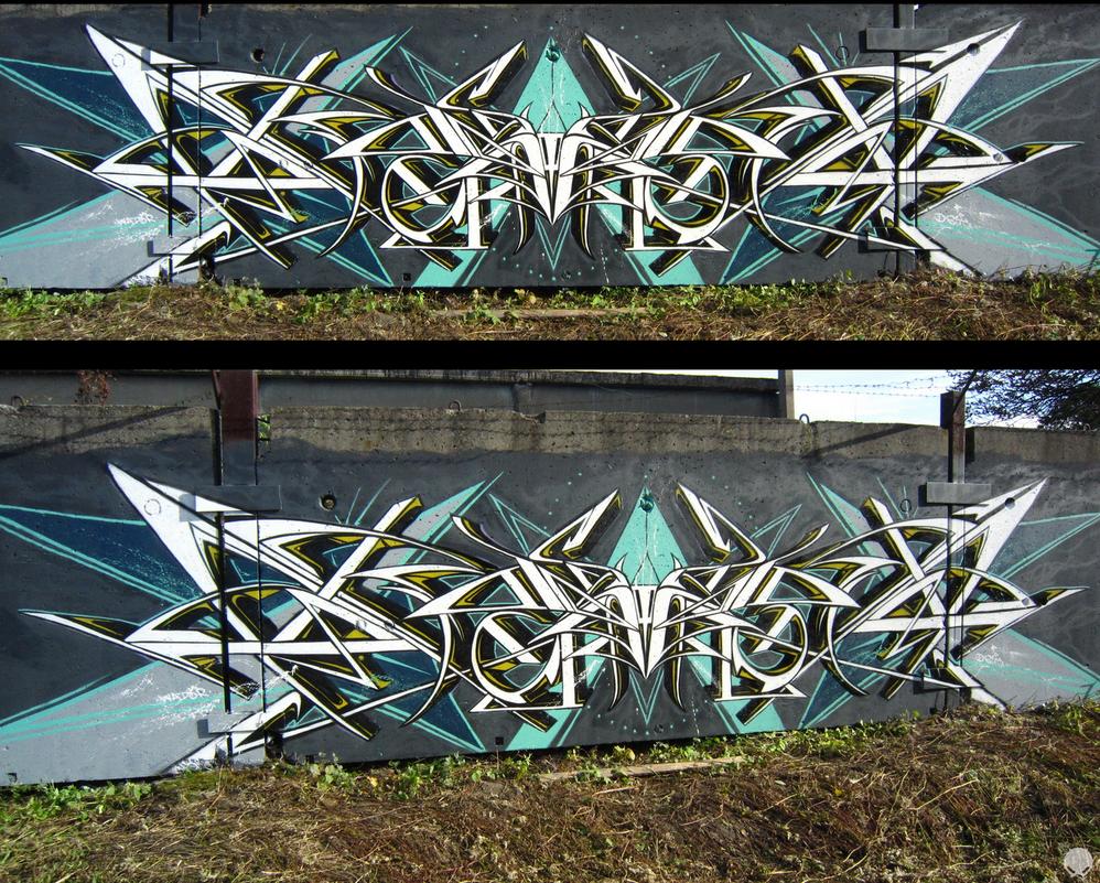 Graffiti. Wator. by Wator
