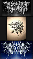 Calligraphy / on Russian language 2 by Wator