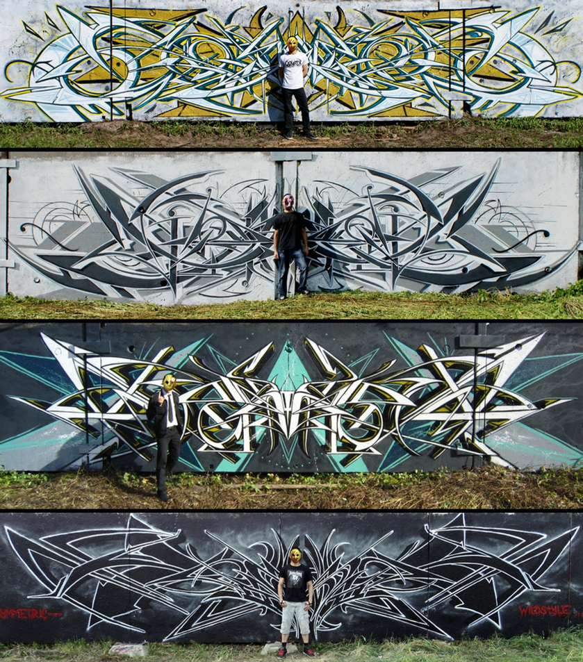 Symmetric-wildstyle by Wator (DST) by Wator