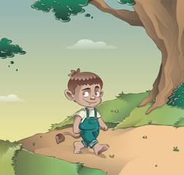 Little troll by Anchen