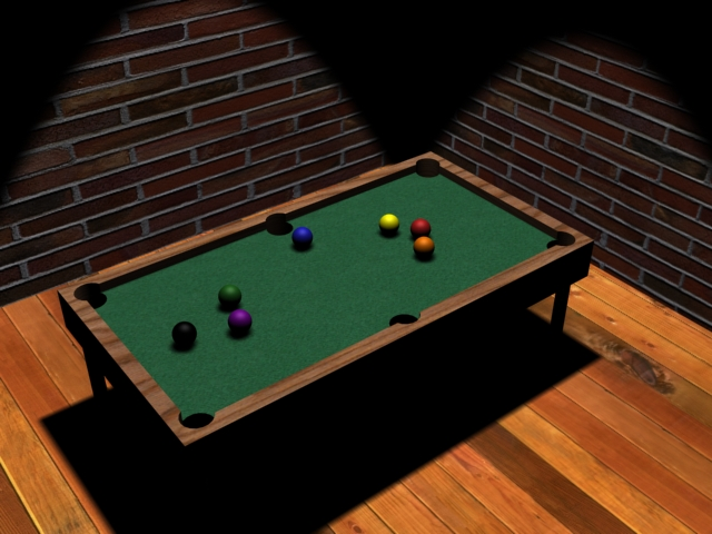 3D Pool Table By Jetbunny