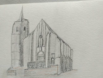 Treigny Cathedral, Burgundy.