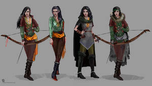 Toruviel armor/clothing concept by AyeriR