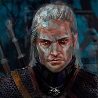 Geralt by AyeriR